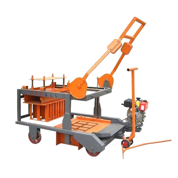 QMR4-45 Mobile Concrete Block Machine