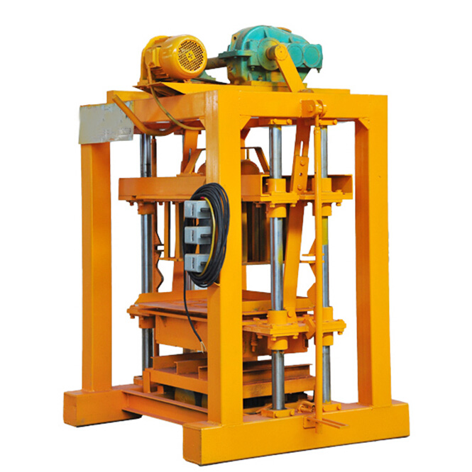 QTJ4-40 Automatic Concrete Block Making Machine